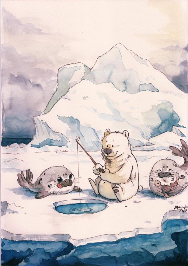 Salmon Fishing in the Arctic
