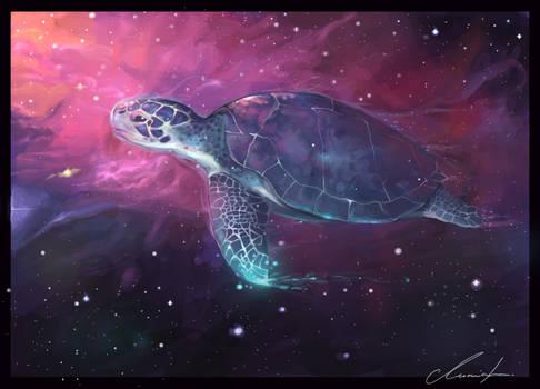 .Flight of Turtles.