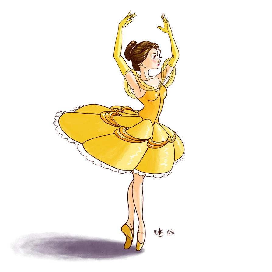 Ballerina Belle By Heyaustine