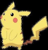 Pikachu Vector by Ruki-Makino