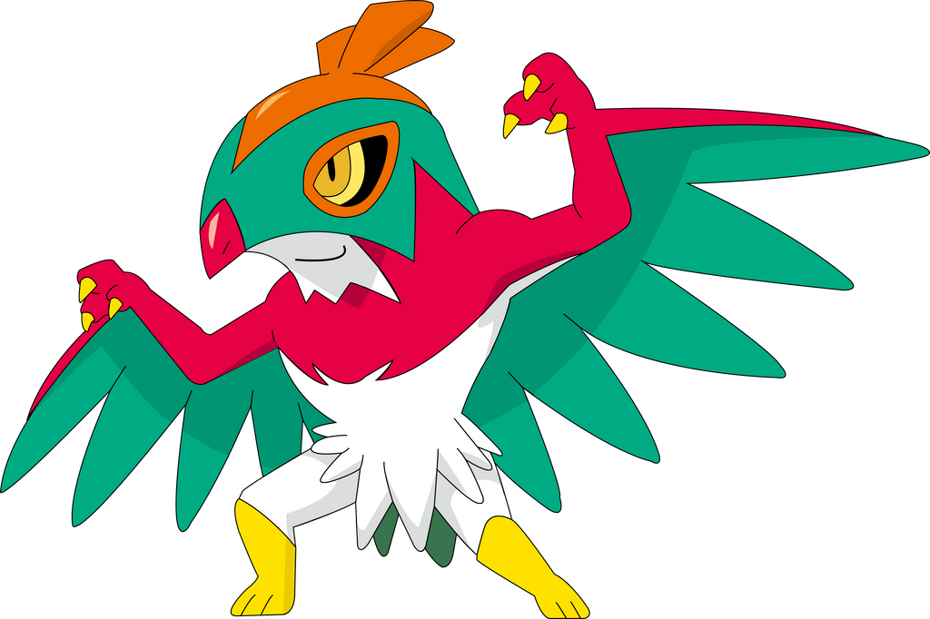 Hawlucha Vector By Ruki-Makino On DeviantArt