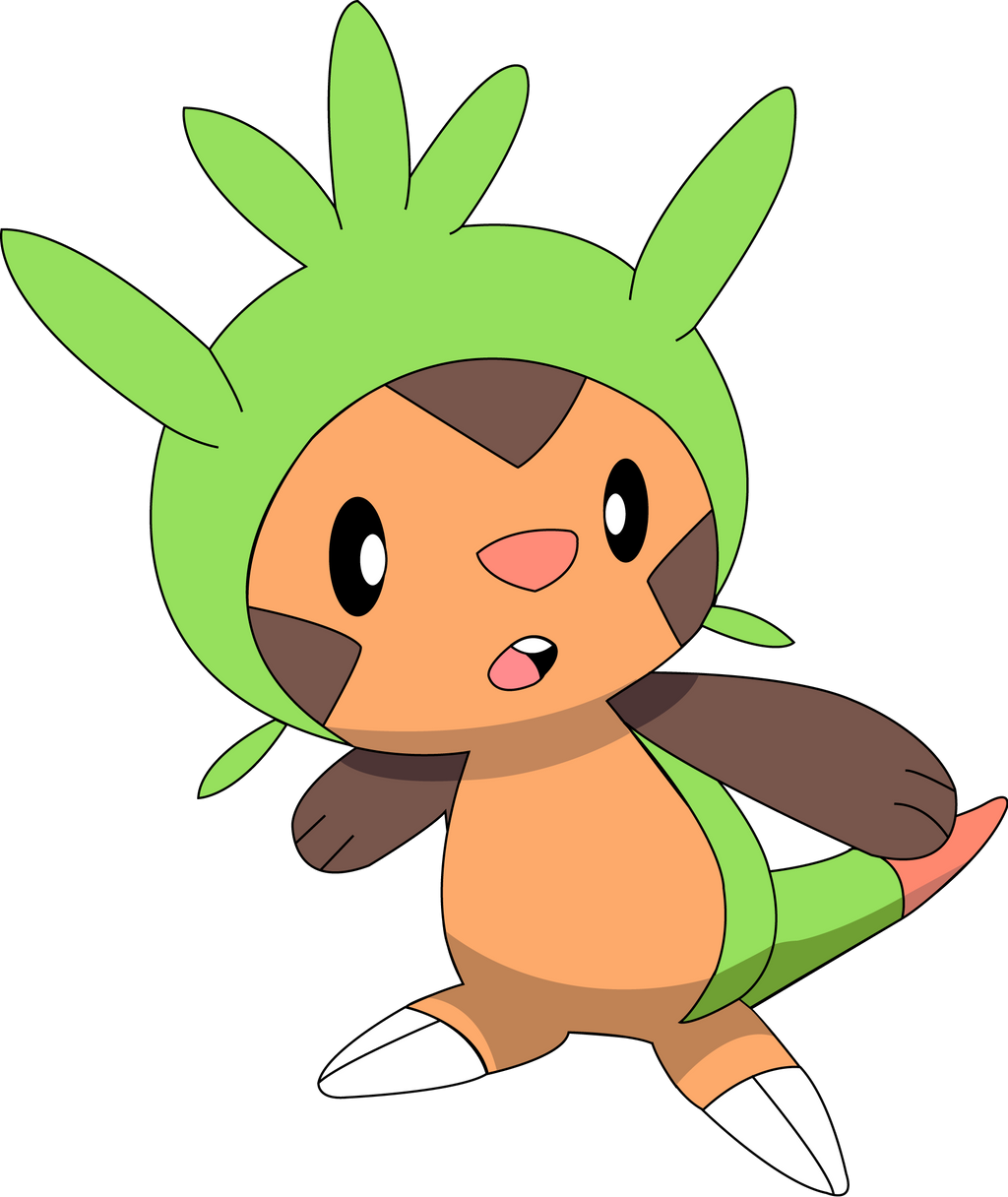 Pokemon X And Y Chespin Evolution Chespin Images | Pokem...