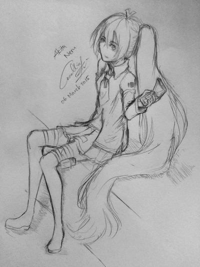 Redraw : Akita Neru by Ryou88