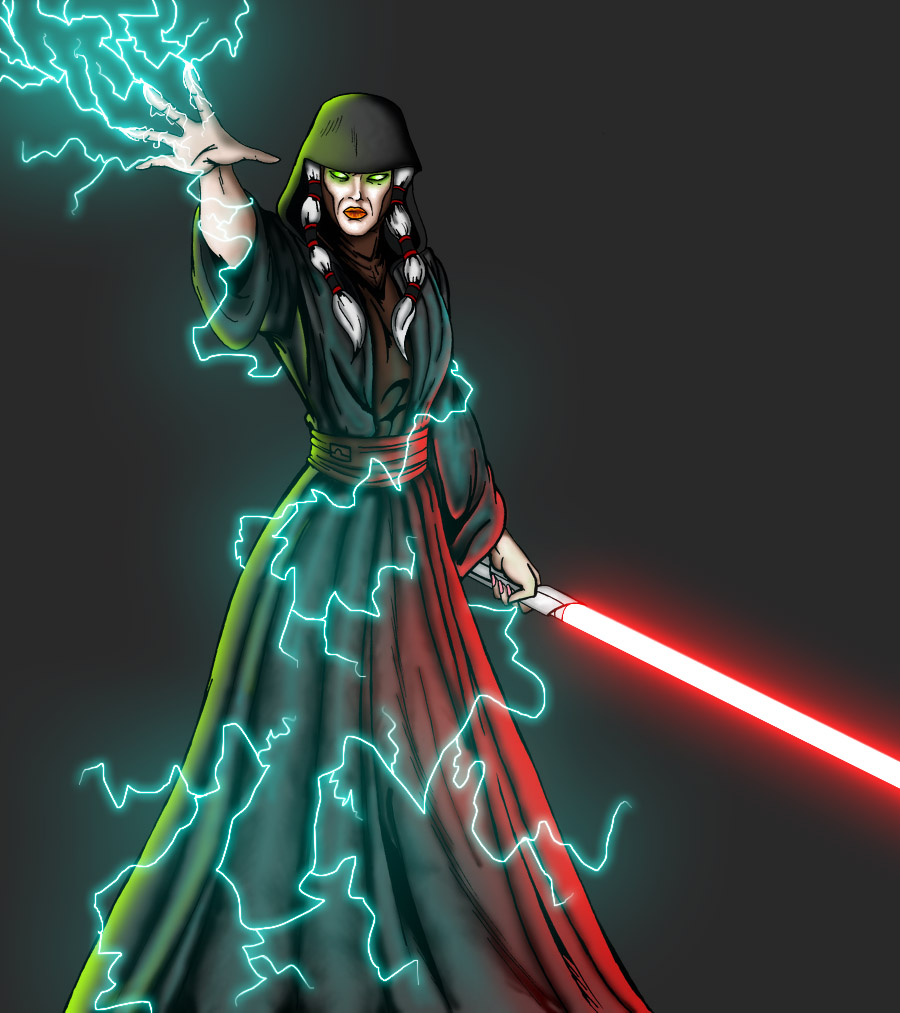 Darth Traya by forcecrush
