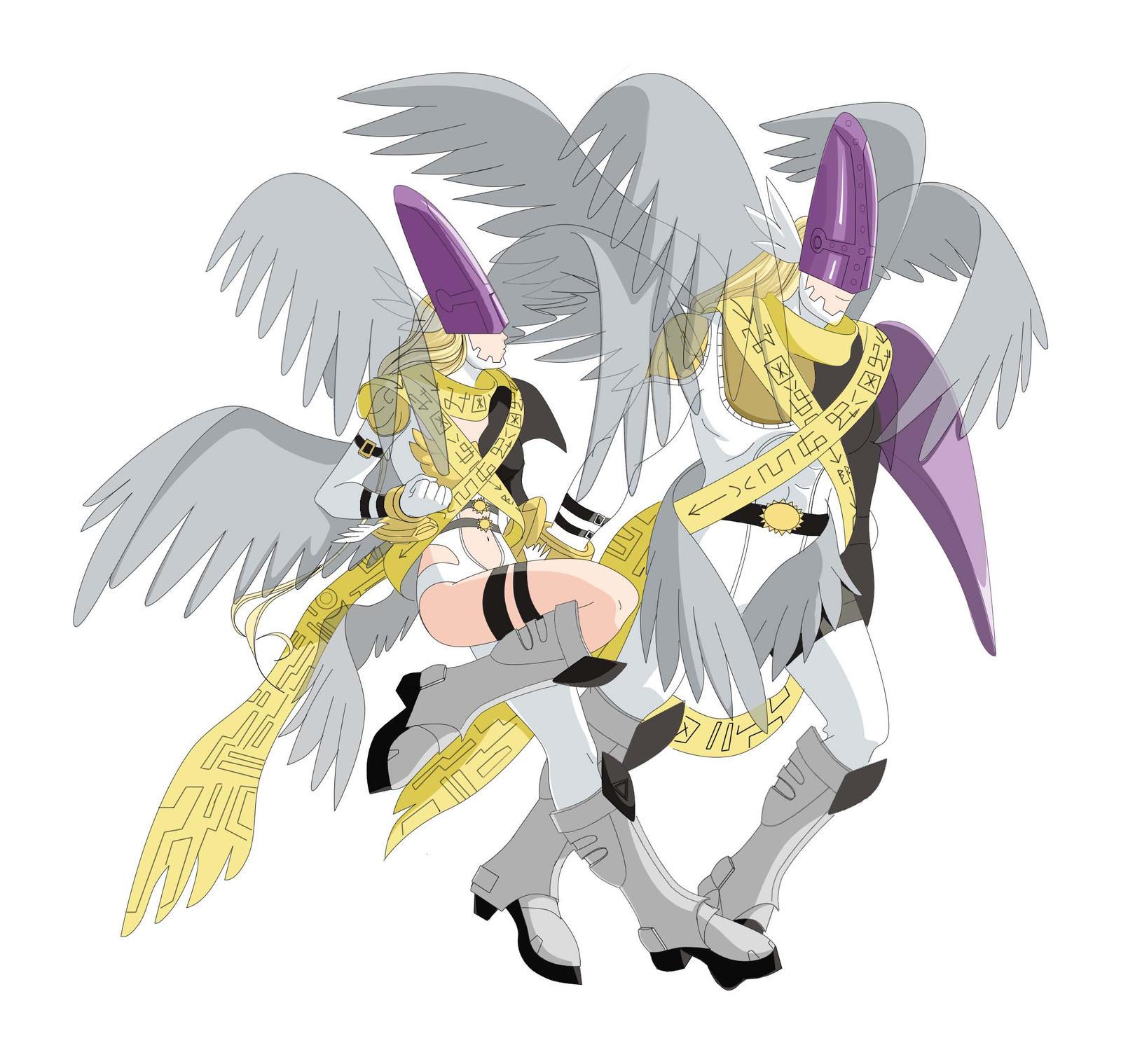 holy angemon holy angewomon by elizabeth2003 on deviantart