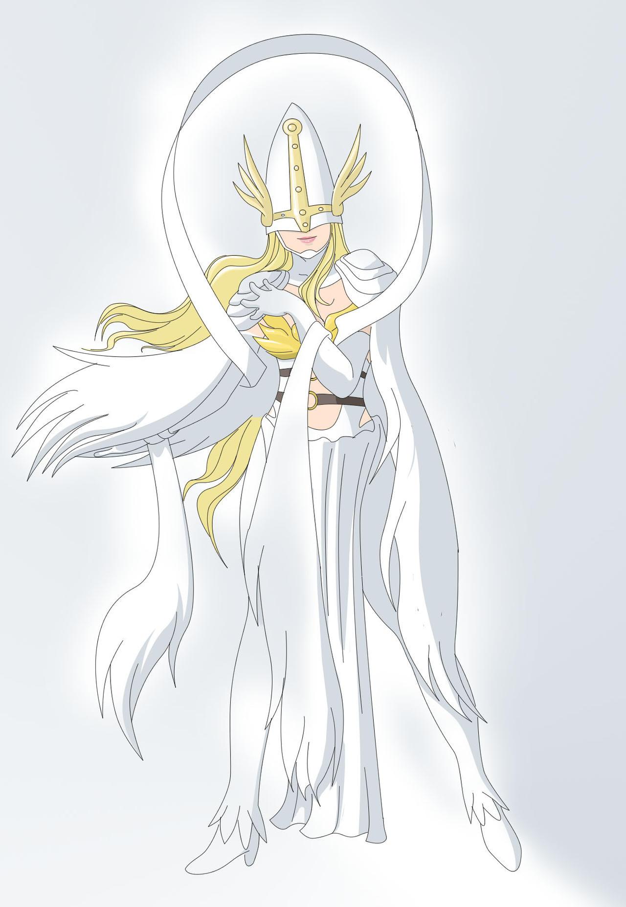 Lady Angewomon III by Ayhelenk