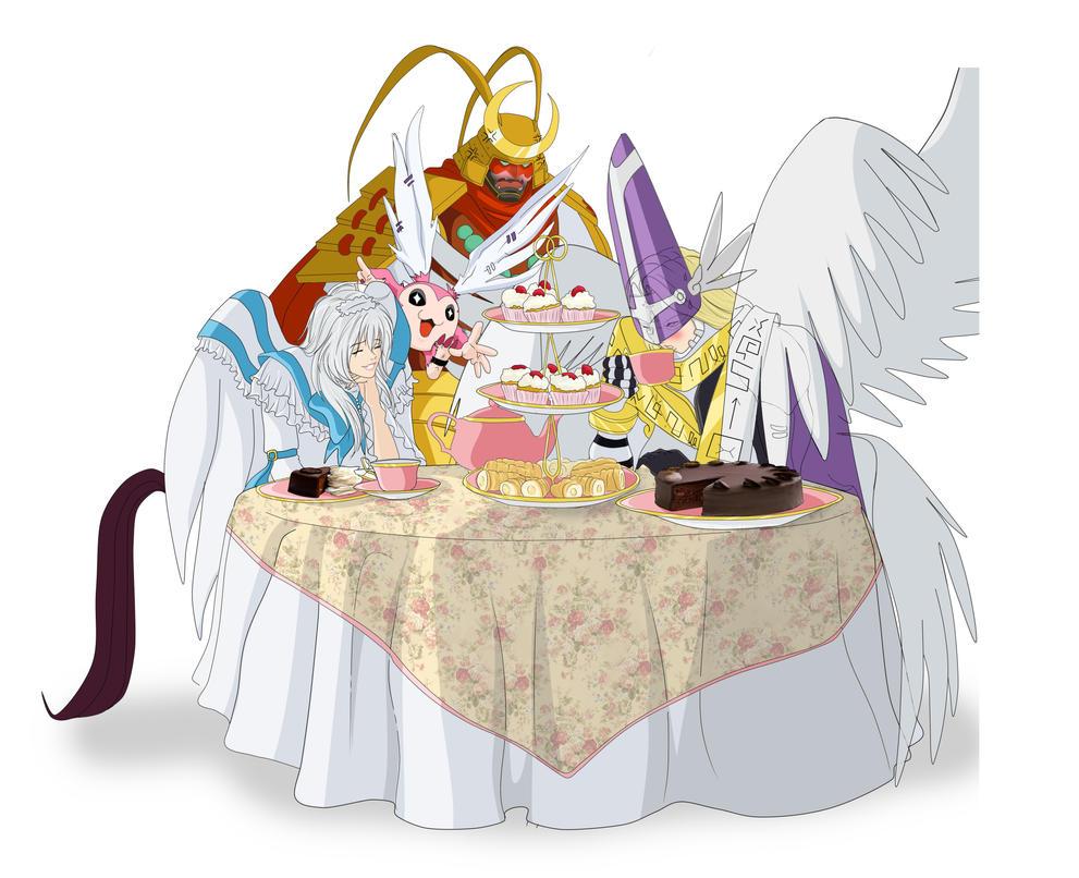 The Tea Party. by Elizabeth2003