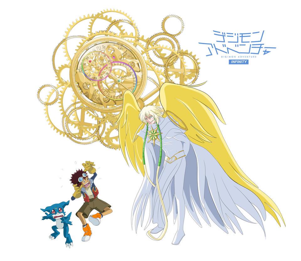 Daisuke meets Shukumeimon by Ayhelenk