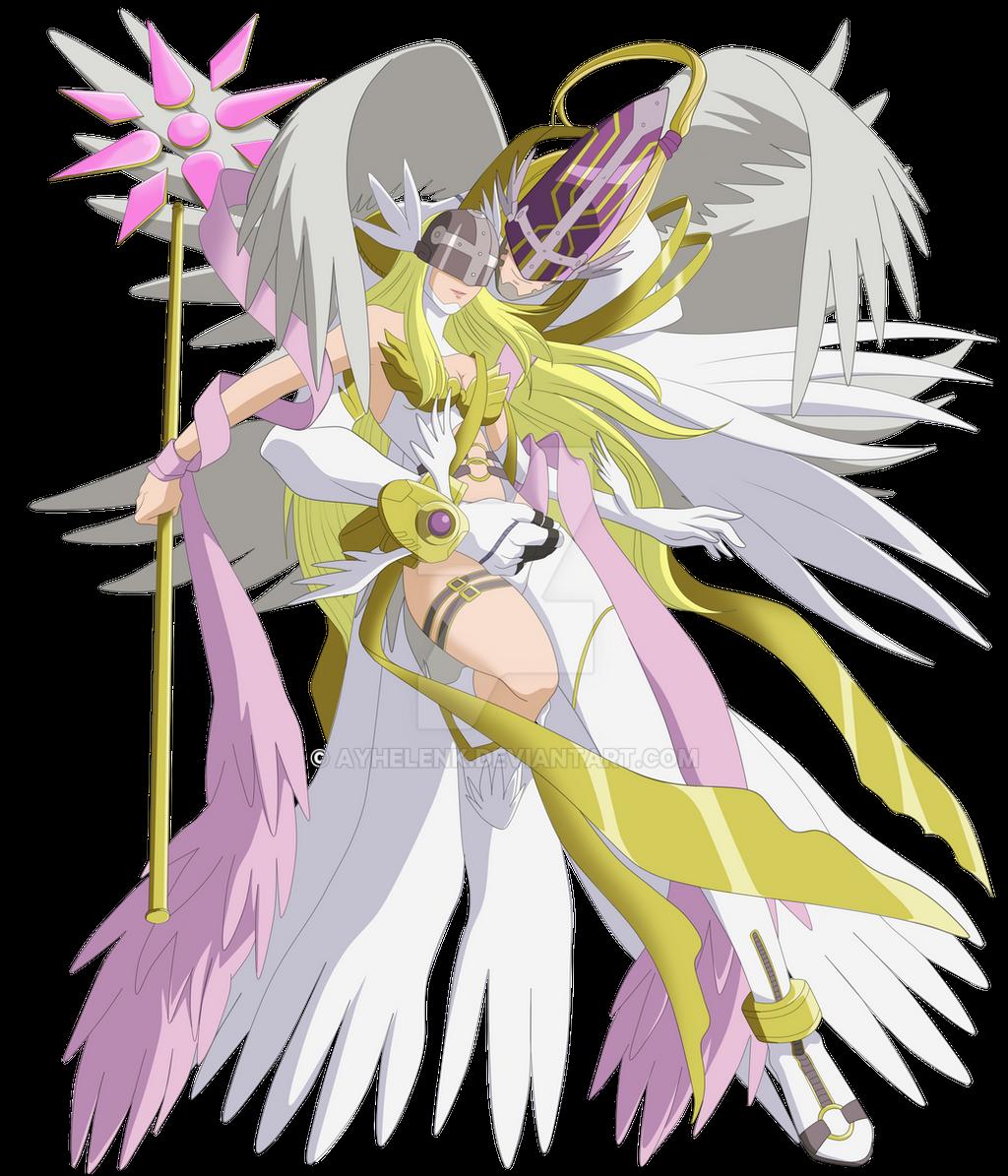 Millennium Holy Angemon and Angewomon