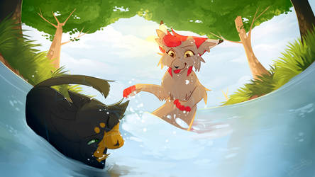 Too Wet for Comfort |Commission|