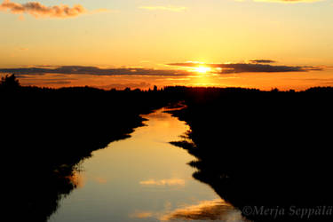 Sunset2 by Merbiili