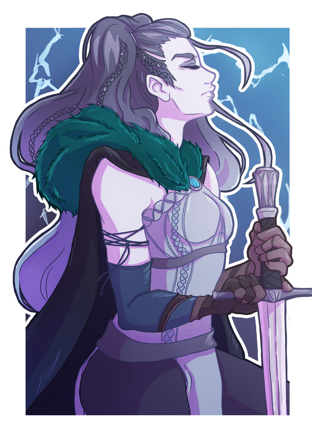 Critical Role Fanart Yasha By Little Cloe On Deviantart Discussionno spoilers critical role is better that anything on tv right now. critical role fanart yasha by little