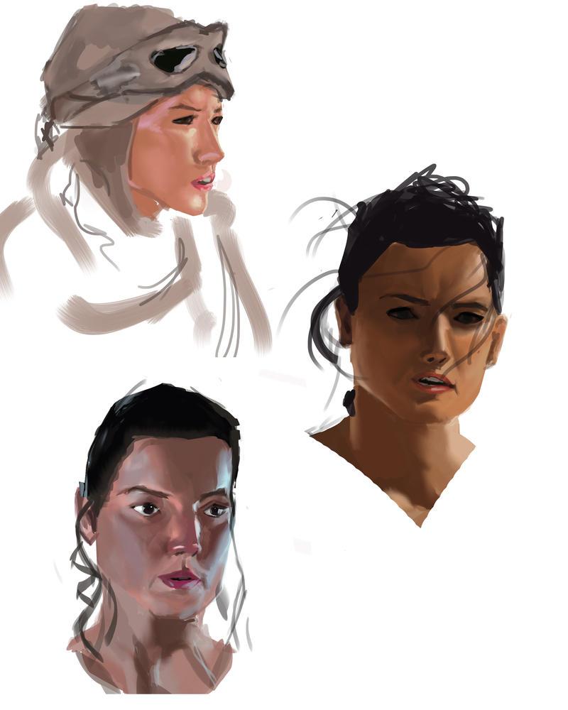 Rey Star Wars by Espiol