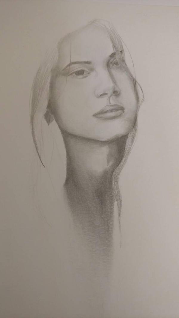 graphite portrait by Espiol