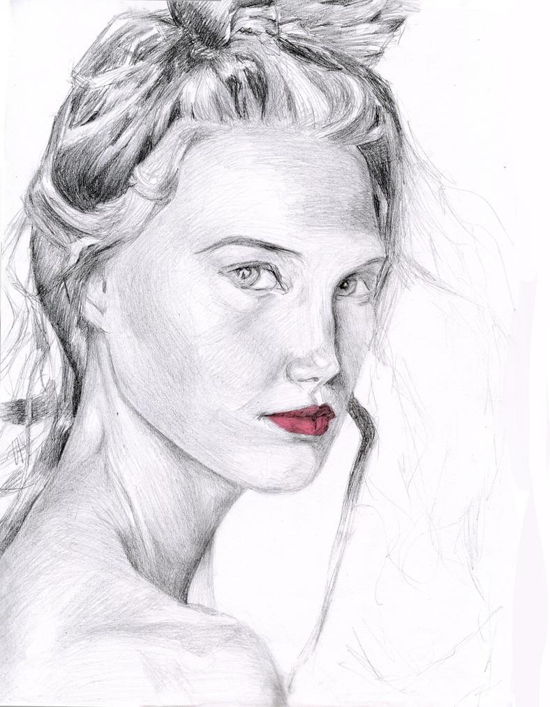 Portrait Sketch by Espiol