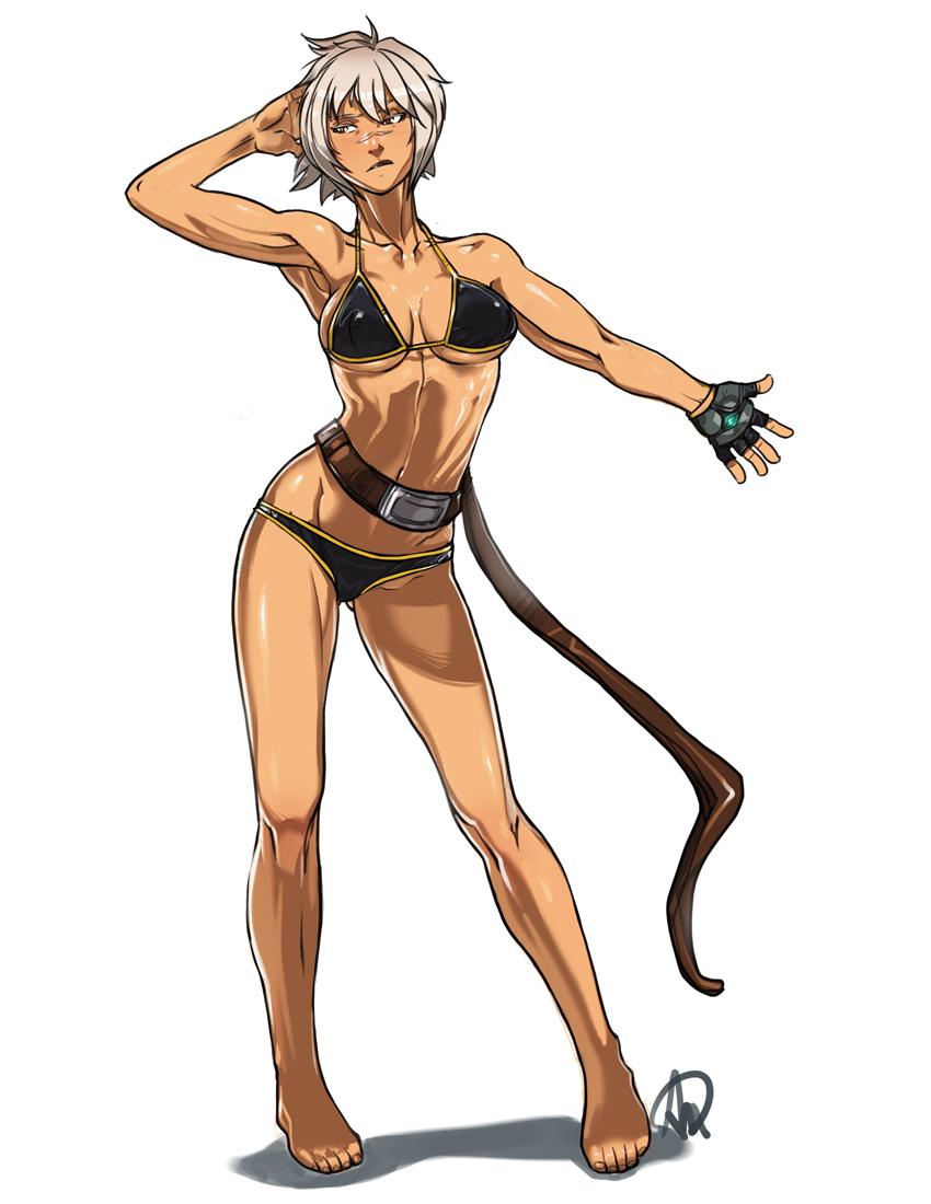 Characters: Mercenaries - Page 2 __bullet_blazblue_and_blazblue_chronophantasma_dra_by_minamajikina77-dbioj53