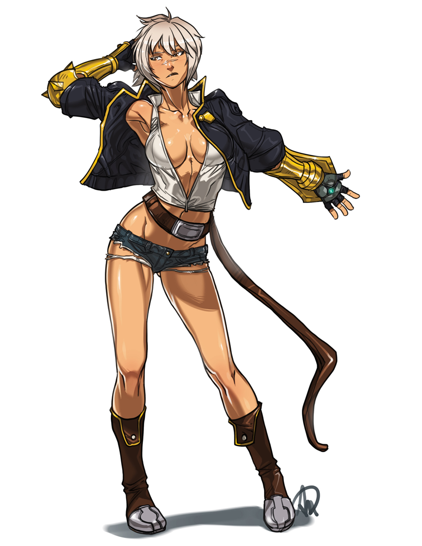 Characters: Mercenaries - Page 2 __bullet_blazblue_and_blazblue_chronophantasma_dra_by_minamajikina77-dbioj54