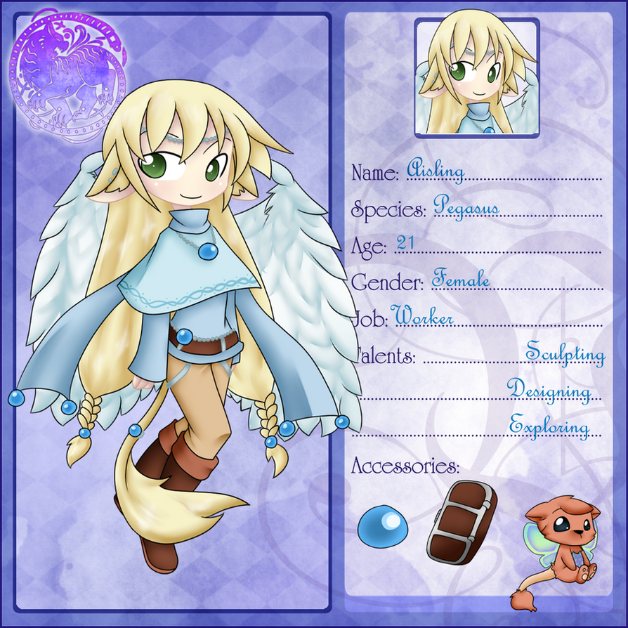 Volsa: Lumeria: Aisling by Natsumi-chan0wolf