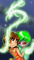 .:Thunder and Lightning:. by Natsumi-chan0wolf