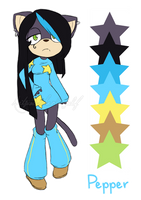 Pepper's Ref by Natsumi-chan0wolf