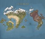 Fesenora World Map