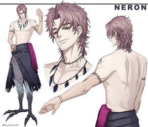 [OC] Neron ref sheet