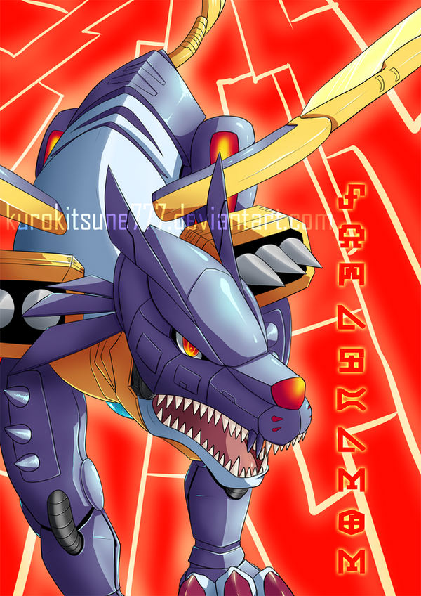 Metalgarurumon by Toumatoo