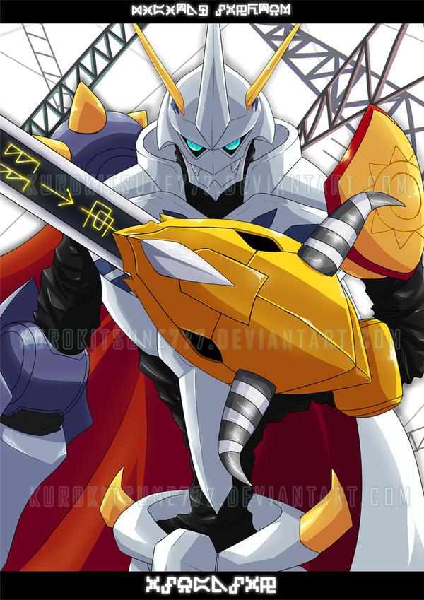 Omegamon by kurokitsune777