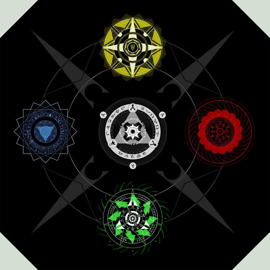 Five Elements Art : Elements cosmosophy cycle by lordkaniche on deviantart