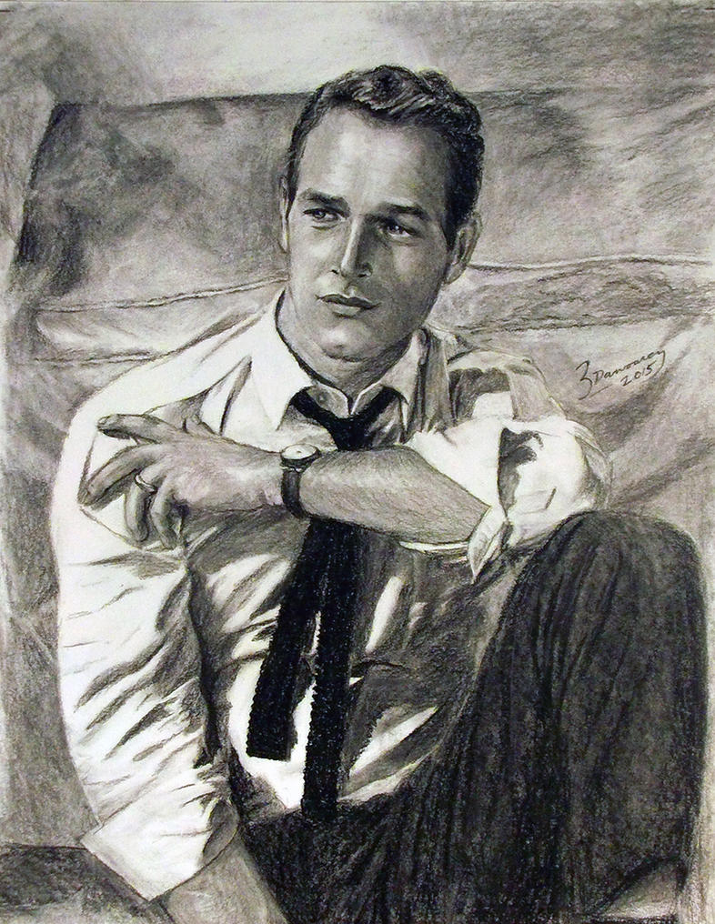 Paul Newman by Surreal-Portrait
