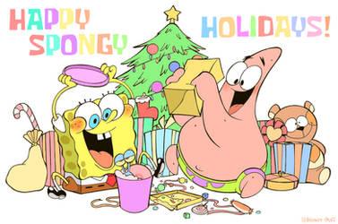 HAPPY SPONGY HOLIDAYS! by HINOKI-pastry