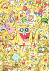 Spongies! by HINOKI-pastry