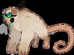 Burned Marshmallow Science Rat
