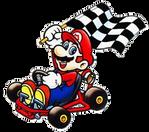 Super Mario Kart Mario