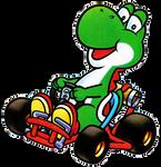 Super Mario Kart Yoshi