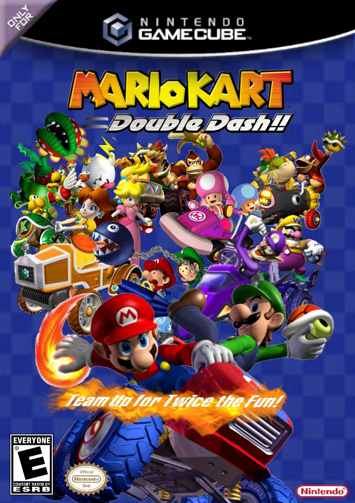 Mario Kart Double Dash Gamecube 2003 By Trustamann On Deviantart