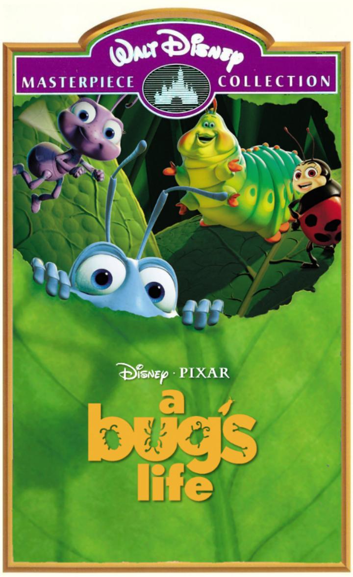 Disney Pixar A Bug S Life Masterpiece Vhs By Trustamann On Deviantart