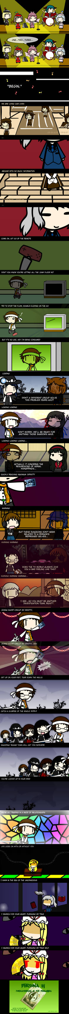 Birthday Comic for Shingo - Pursuing My True Self