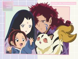 Midoriko and Kirinmaru Family?