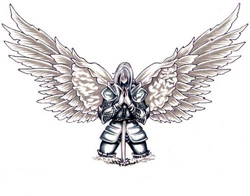 Warrior_tattoo by GodsWarrior89 on DeviantArt