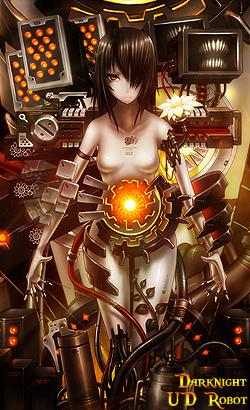 Rank#1Darknight Robot_art_by_alejandro0698-d4a16mv
