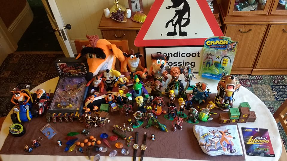 Crash Game Toy : Crash bandicoot toy collection by harrisonthehutt on