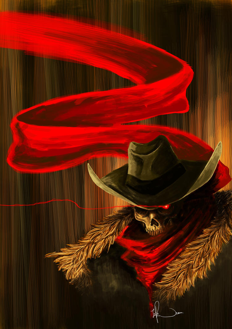 Skull Cowboy by JPing ...