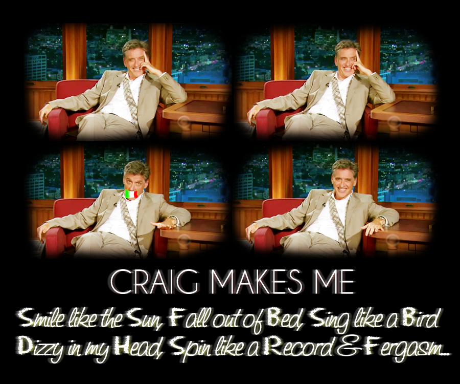 Craig makes me Smile by McAddicted