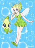 Celebi Fairy by chikorita85