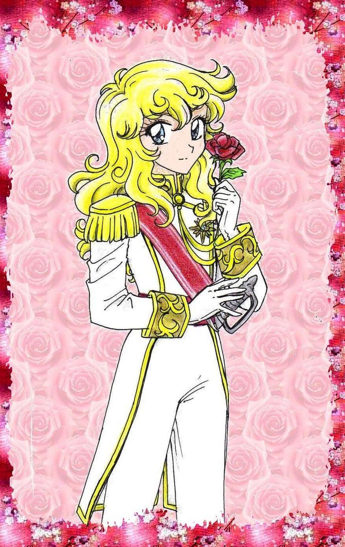 Lady Oscar fanart by chikorita85