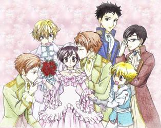 The princess and the princes by chikorita85