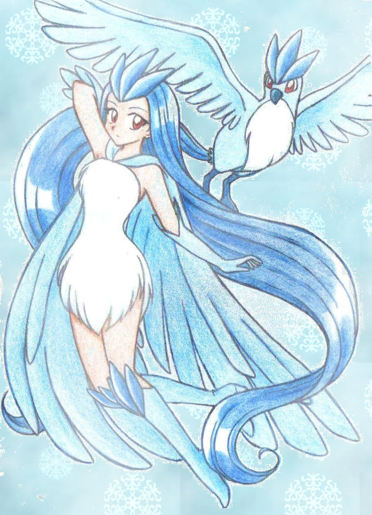 Articuno by chikorita85 on DeviantArt