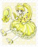 Yellow and Chuchu by chikorita85
