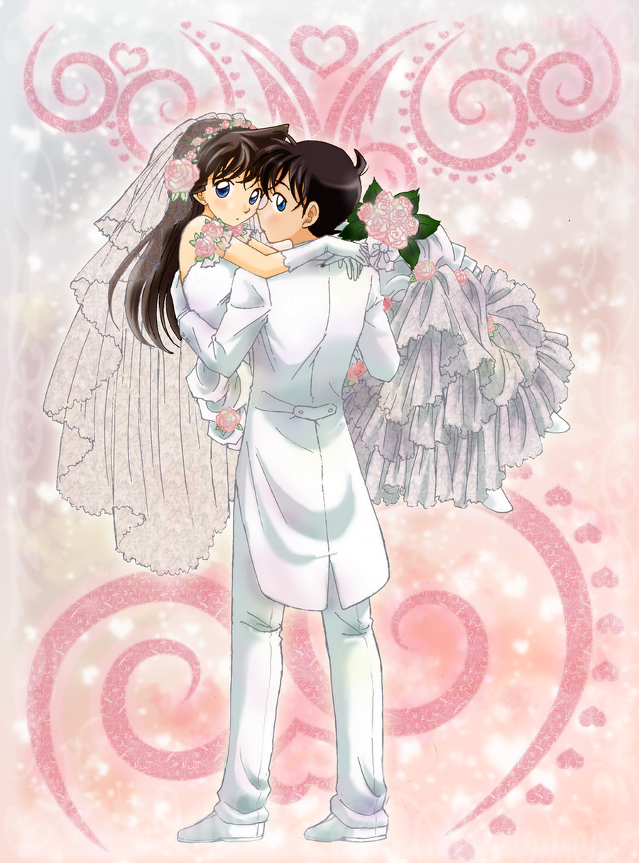 Bride and Groom by chikorita85
